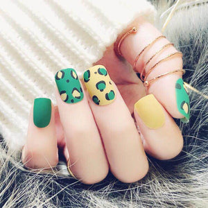 Tree of Mustard (Matte) - The Fab Nails