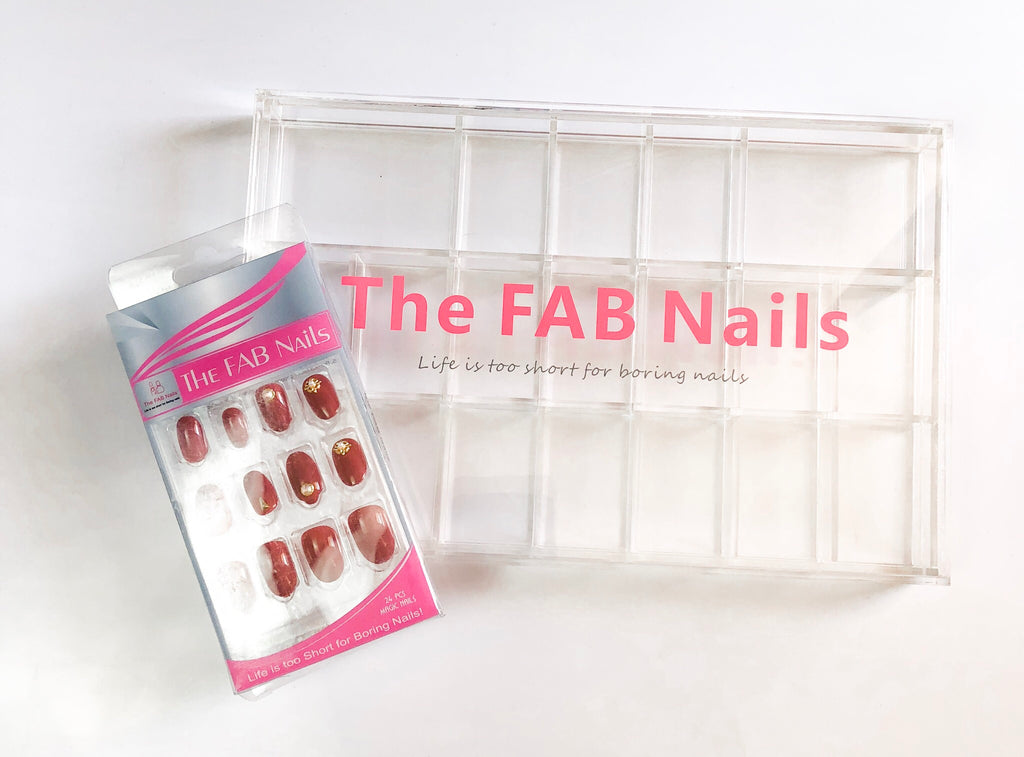 The FAB Nails Acrylic Organizer - The Fab Nails