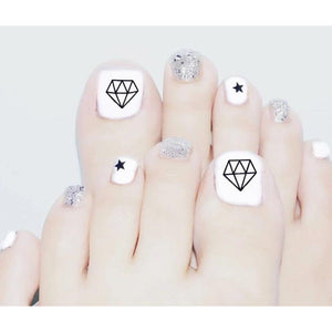 Diamond Toe - The Fab Nails