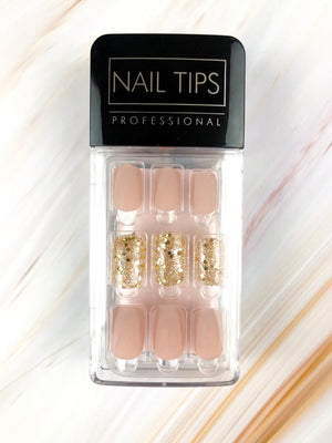 Perfect Nude - Matte (Press On) - The Fab Nails