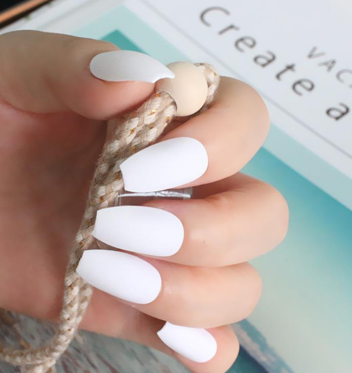Pure and Bright (Matte) - The Fab Nails