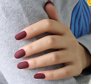 Healthy Heart (Matte) - The Fab Nails