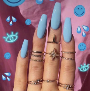 Blueberry Pop - The Fab Nails