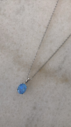 Ble Blu Necklace