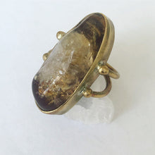 Load image into Gallery viewer, Citrine Solitaire Ring