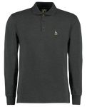 Hart Graphite Long-Sleeved Polo