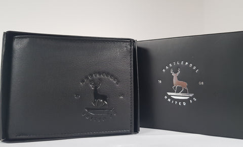 Leather Wallet with Club Crest in presentation box