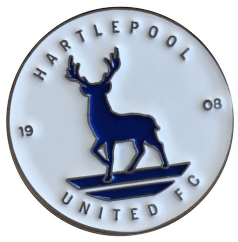 Club Crest Pin Badge (White)