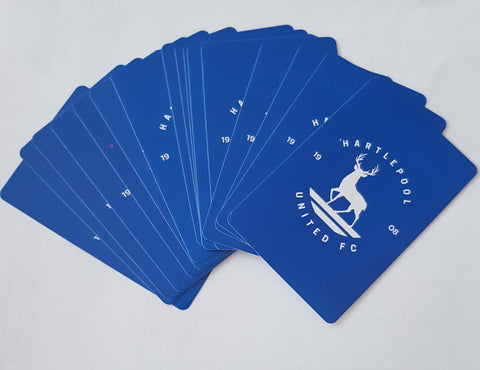 HUFC Pack of playing cards with case