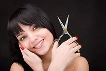 "Load image into Gallery viewer, Professional Razor Edge Hair Cutting Scissors (6.5"")"