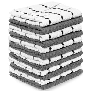 "Zeppoli Kitchen Towels, 100% Soft Cotton - 15"" x 25"""
