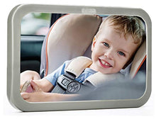 Load image into Gallery viewer, Back Seat Baby Mirror - Rear View Baby Car Seat Mirror by Baby & Mom