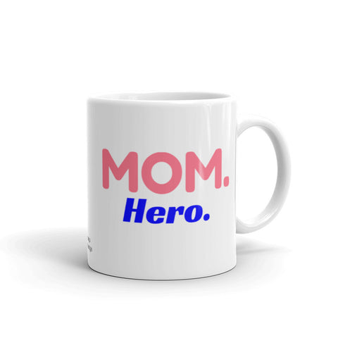 Mom Coffee Mug, Hero