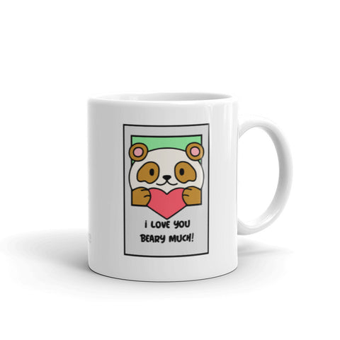 """Love U Beary Much"" Mug"