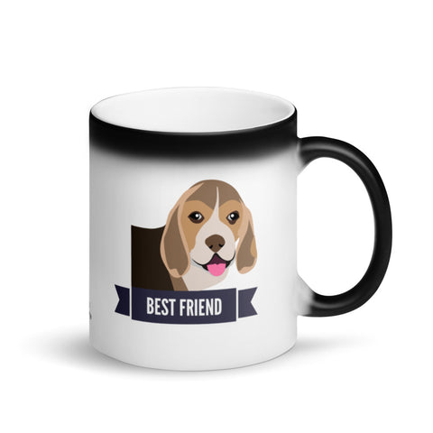 Beagle Best Friend Magic Mug