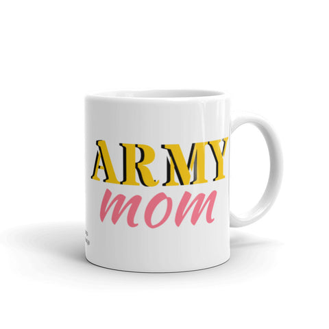 Army Mom Coffee Mug