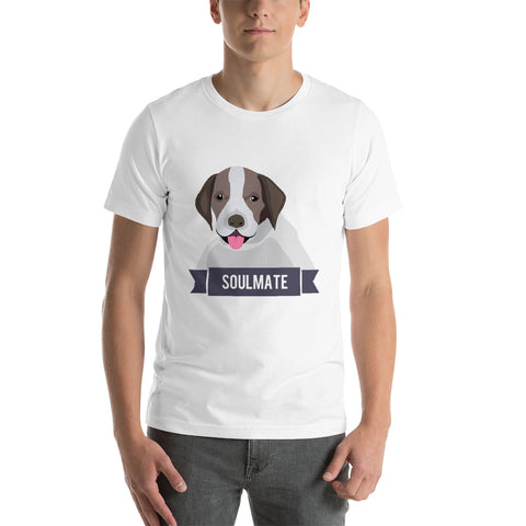 German Shorthaired Pointer Soulmate Unisex T-Shirt
