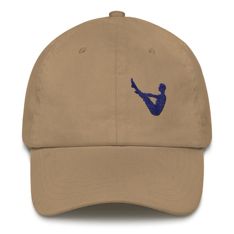 Yoga Cap for Men Boat Pose