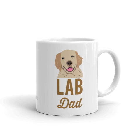 labrador dad coffee mug