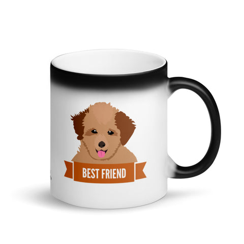 Poodle Best Friend Magic Mug