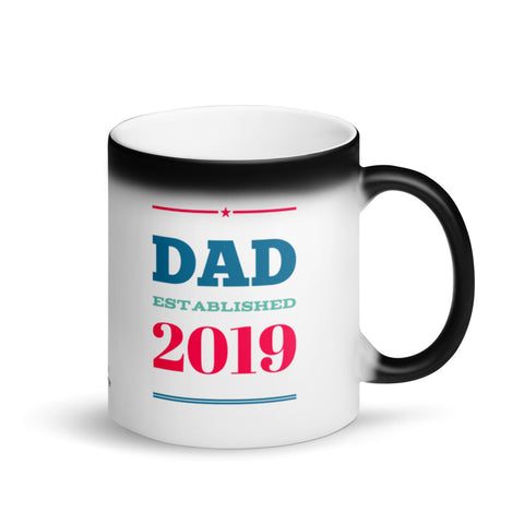 Dad Est 2019 Magic Mug