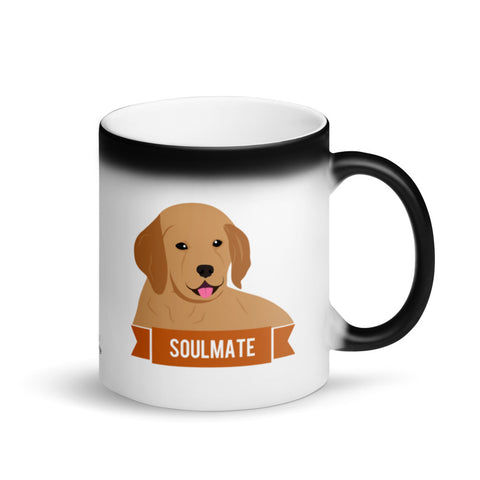 Golden Retriever Soulmate Magic Mug