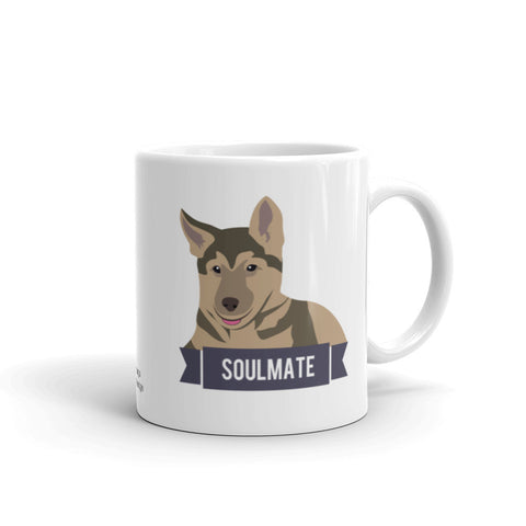 German Shepherd Soulmate Mug