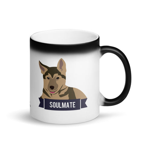 German Shepherd Soulmate Magic Mug