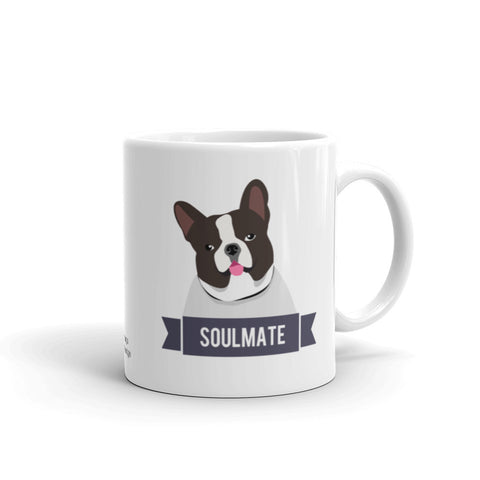 French Bulldog Soulmate Mug