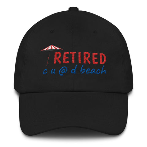 Custom Retirement Hat, Unisex