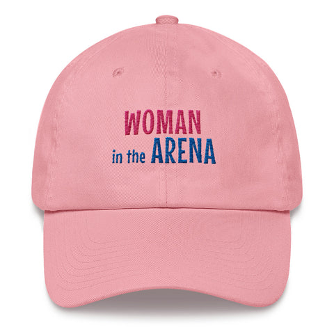 Woman in the Arena Inspirational Hat