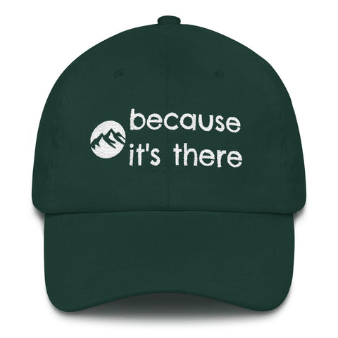 Hiking Hat - Because It's There