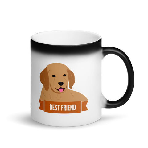 Golden Retriever Best Friend Magic Mug