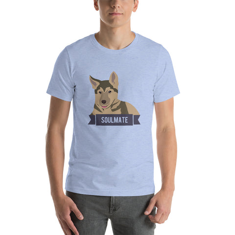 German Shepherd Soulmate Unisex T-Shirt