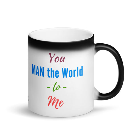 Custom Coffee Magic Mug for Him, Size 11 Fl Oz