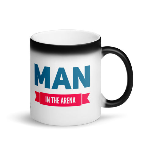 Man in the Arena Magic Mug