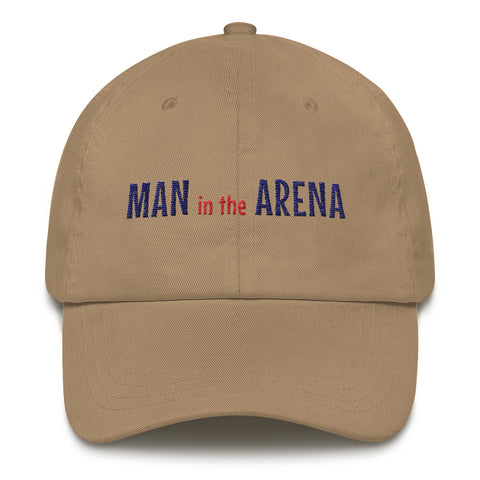 Man in the Arena Inspirational Hat