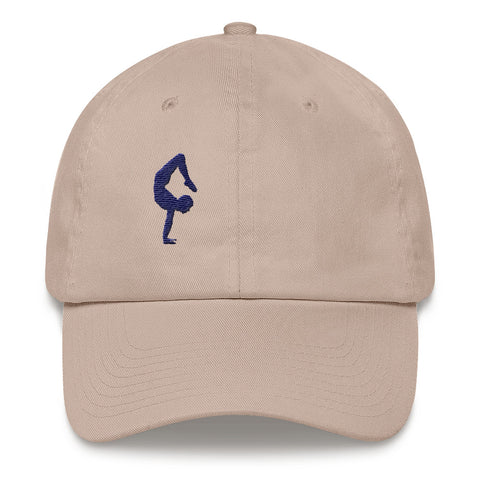 Yoga Cap for Men Scorpion Pose