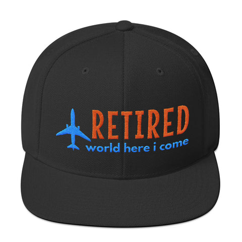 Retirement Hat - World Here I Come