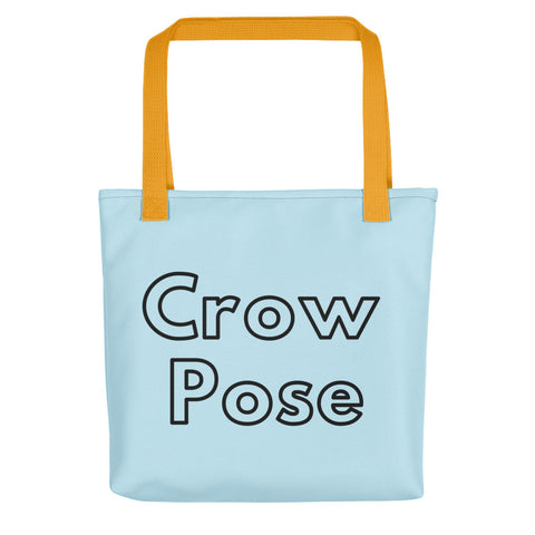 Blue Tote Crow Pose + Pix Design