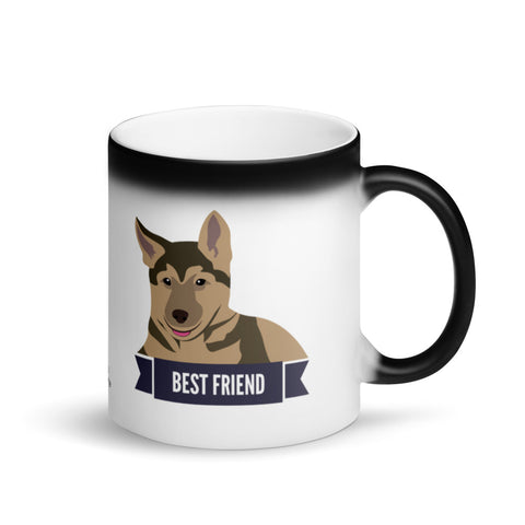 German Shepherd Best Friend Magic Mug