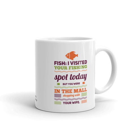 Coffee Mug for Fisherman Dad