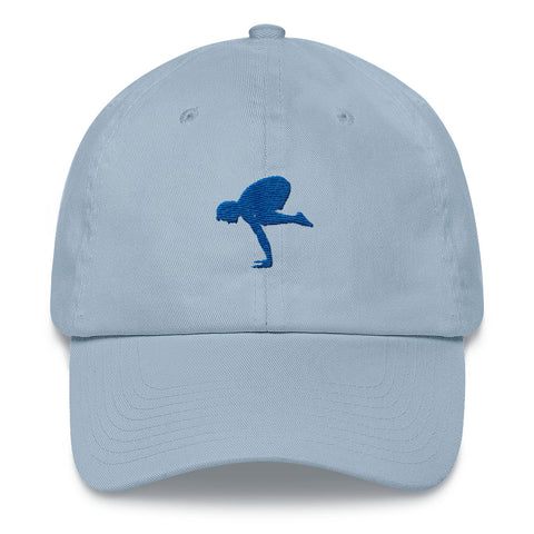 Yoga Cap for Men Crane Pose