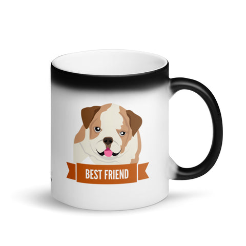 English Bulldog Best Friend Magic Mug