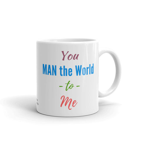 Custom Coffee Mug for Him, Sizes 11 Fl Oz & 15 Fl Oz