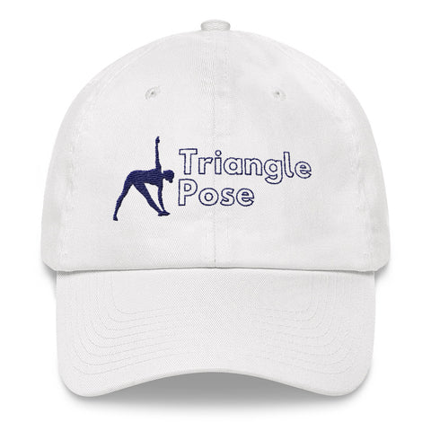 Yoga Hat Triangle Pose