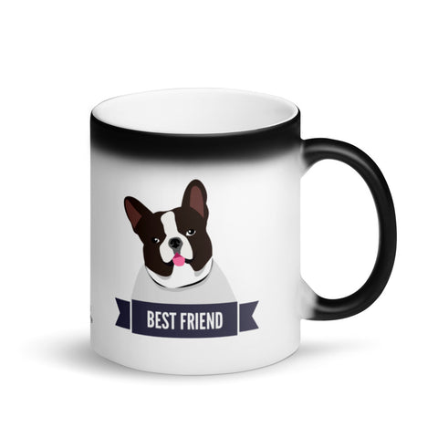 French Bulldog Best Friend Magic Mug