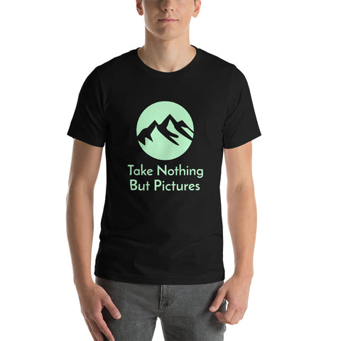 Hiking T-Shirt Take Nothing But Pictures