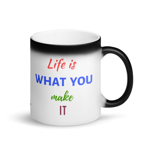 Inspirational Coffee Magic Mug, Size 11 Fl Oz