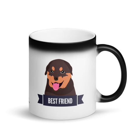 Rottweiler Best Friend Magic Mug